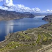An image of a valley/lake property that Diverse owns